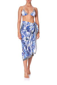 MID LENGTH SARONG PAINTED PROVINCIAL