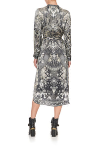 MID LENGTH SHIRT DRESS ONE TRIBE
