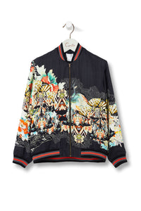 CAMILLA MIDNIGHT MOONCHILD MENS BOMBER JACKET