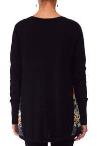 CAMILLA MIDNIGHT MOONCHILD SILK GAUDET KNIT