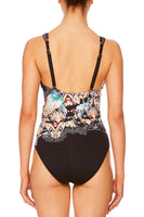 CAMILLA MIDNIGHT MOONCHILD CROSS FRONT ONE PIECE