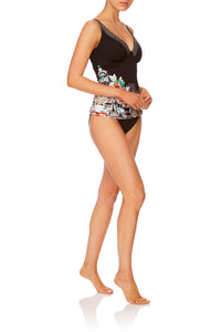 CAMILLA MIDNIGHT MOONCHILD E CUP UNDERWIRE TANKINI