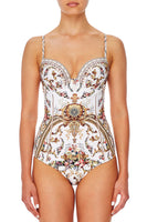 CAMILLA MOULDED ONE PIECE WITH TRIM OLYMPE ODE