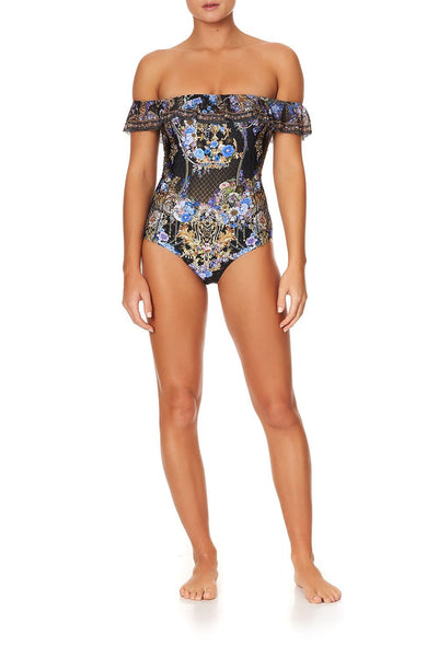 OFF THE SHOULDER ONE PIECE PALACE PLAYHOUSE