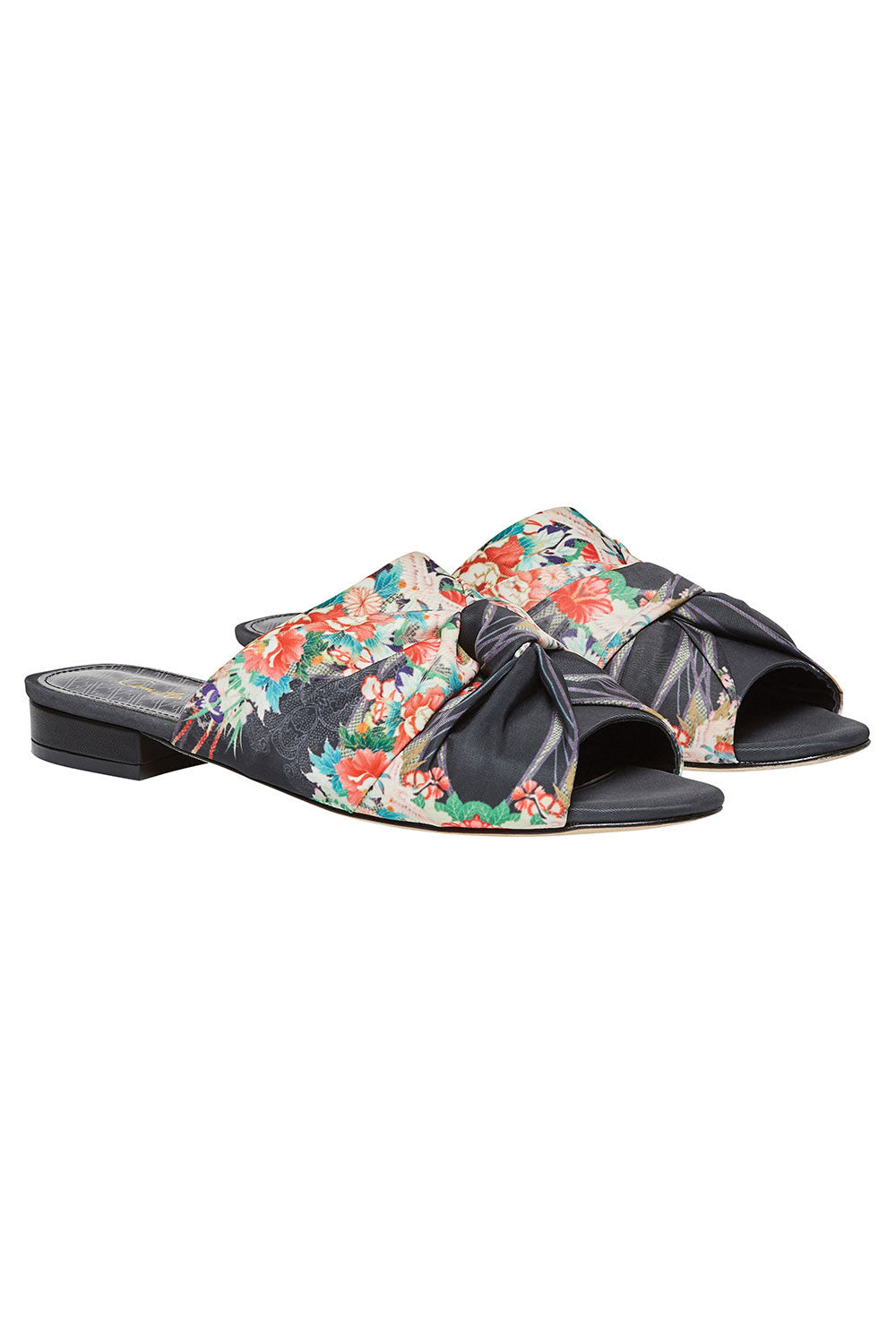 CAMILLA QUEEN OF KINGS OBI TIE SLIPPER