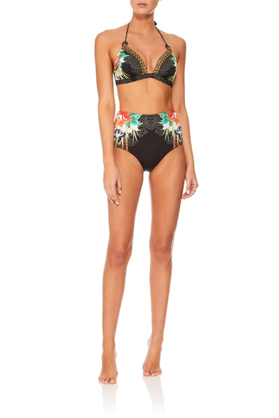 CAMILLA QUEEN OF KINGS BELTED HIGH WAIST BIKINI