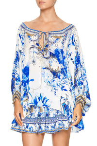 CAMILLA RAGLAN SLEEVE BLOUSE WITH CUFF SAINT GERMAINE