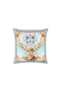 CAMILLA SMALL SQUARE CUSHION RETRO'S RAINBOW