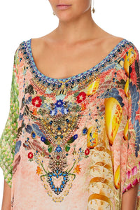 ROUND NECK KAFTAN CALM IN THE WILD