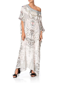 ROUND NECK KAFTAN CRYSTAL CASTLE