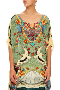 ROUND NECK KAFTAN LITTLE MISS MISFIT