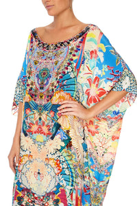ROUND NECK KAFTAN MISO IN LOVE