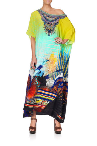 ROUND NECK KAFTAN SOUTHERN MERMAID