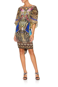 ROUND NECK KAFTAN STRONGER TOGETHER
