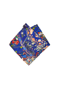 CAMILLA SATURN SISTER MENS POCKET SQUARE