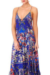 CAMILLA SATURN SISTER U-RING MAXI DRESS
