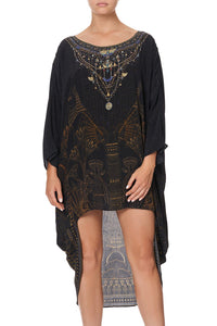 SCOOP BACK HEM DRESS COBRA KING