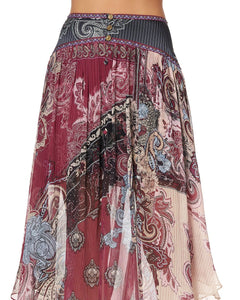 SHAPED WAIST SKIRT TALE OF THE FIRE BIRD