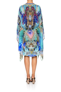 SHEER LAYERED DRESS WITH SPLIT FREEDOM FLIGHT