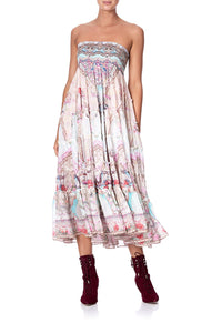 SHEER TIERED CIRCLE SKIRT CAROUSEL MADEMOISELLE