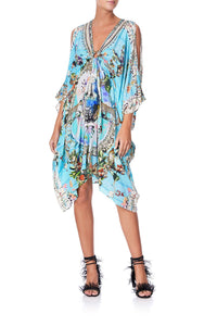 SHORT KAFTAN WITH HARDWARE GIRL FROM ST TROPEZ