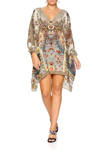 SHORT KAFTAN WITH CUFF JEANNE QUEEN