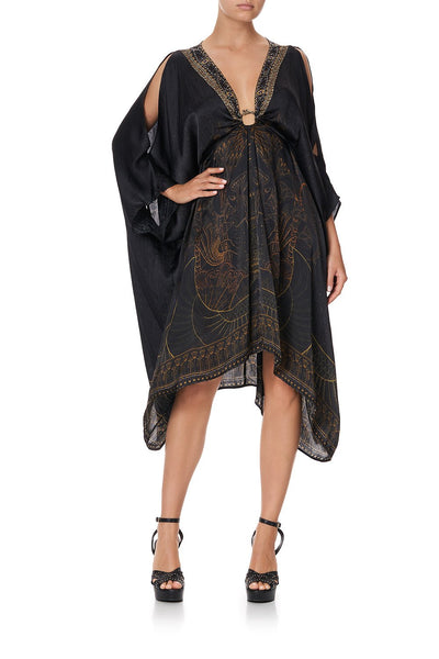 SHORT KAFTAN WITH HARDWARE COBRA KING