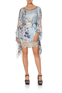 SHORT KAFTAN WITH SHEER SLEEVES FRASER FANTASIA