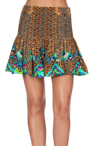 SHORT SHIRRED SKIRT MOTHER XANADU