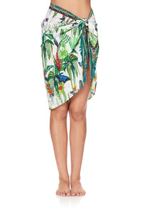 SHORT TASSEL SARONG DAINTREE DARLING