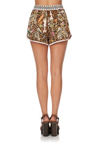 SHORTS WITH PIPING DETAIL FAUNA ELECTRO