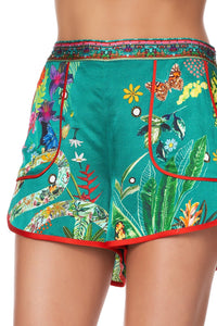SHORTS WITH PIPING DETAIL PARADISE CIRCUS