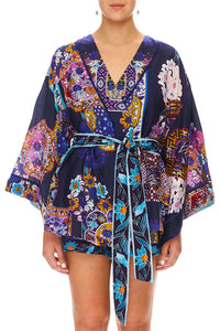 CAMILLA SLEEPWEAR ROBE STAR GAZER