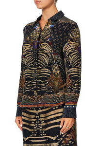 CAMILLA SLIM FIT LONG SLEEVE SHIRT THE NIGHT WE MET