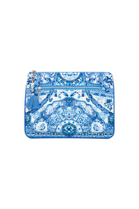 CAMILLA ETERNITYS EMPIRE SMALL CANVAS CLUTCH