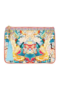 SMALL CANVAS CLUTCH MISO IN LOVE