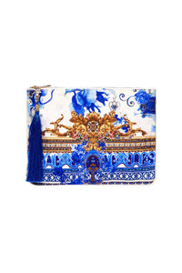SMALL CANVAS CLUTCH SAINT GERMAINE