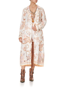 SOFT TRENCH WITH FRENCH CUFF MARRAKESH MAIDEN