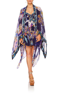 CAMILLA CAMILLA FOUND IN TRANSLATION RECTANGULAR V-NECK KAFTAN