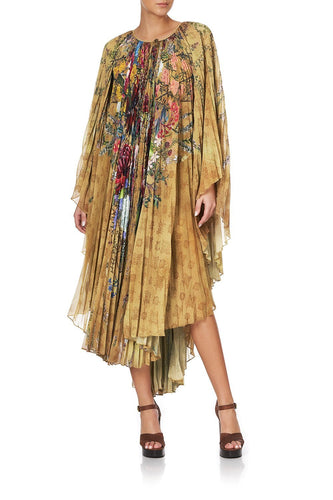 SUNRAY PLEATED KAFTAN AMONG THE GUMTREES