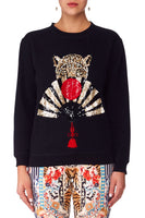 CAMILLA THE LONELY WILD ROUND NECK SWEATER