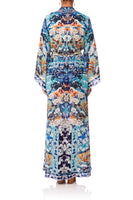 CAMILLA TOKYO TRIBE DRAWSTRING BUTTON UP DRESS