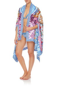 CAMILLA TOWEL PONCHO GEISHA GATEWAYS