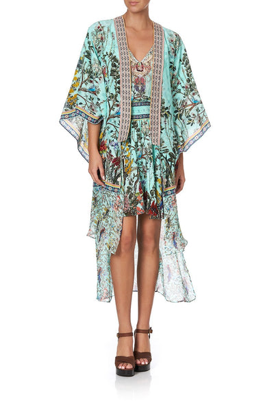 KIMONO WITH LONG UNDERLAYER MILLAS BACKYARD