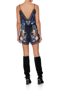 V-NECK LACE PLAYSUIT MARE MYSTIQUE