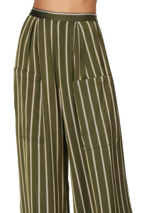 WIDE LEG TROUSER WITH FRONT POCKETS AMONG THE GUMTREES