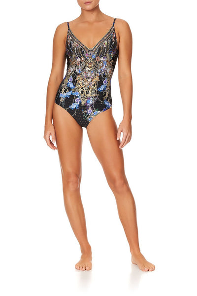 WIRED V-NECK ONE PIECE PALACE PLAYHOUSE