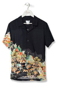 MEN'S SHORT SLV SHIRT MIDNIGHT MOONCHILD