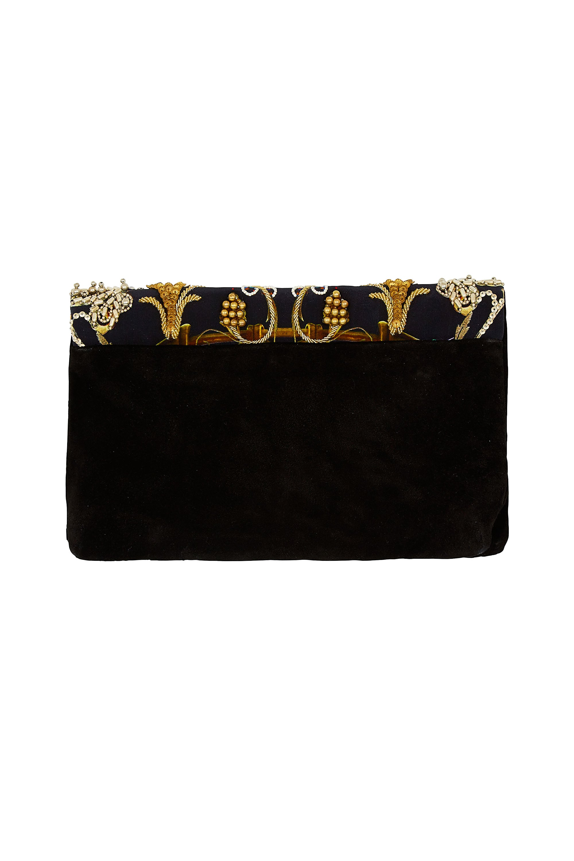 DANCING IN THE DARK EMBELLISHED CLUTCH
