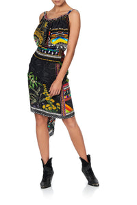 DRAWSTRING DRESS BLACKHEATH BETTY